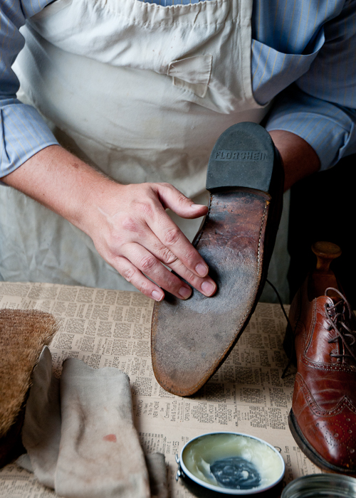 How to maintain leather soles