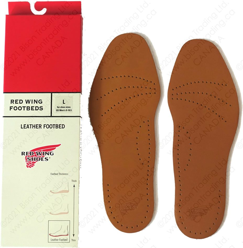 Leather Footbed Red Wing
