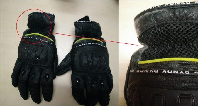 Mould growth and rotting of your leather gloves