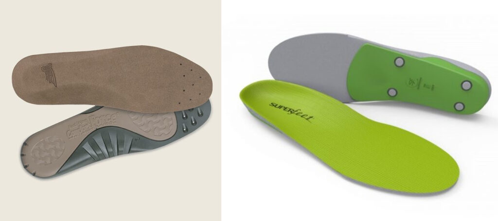 Red Wing Insoles VS Superfeet Insoles