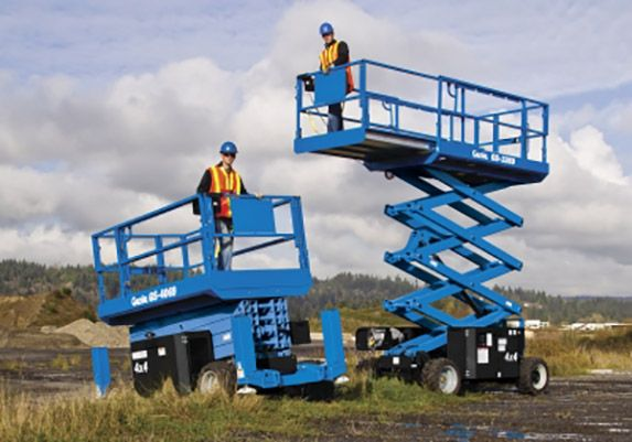 Are Hard Hats Required on a Scissor Lift