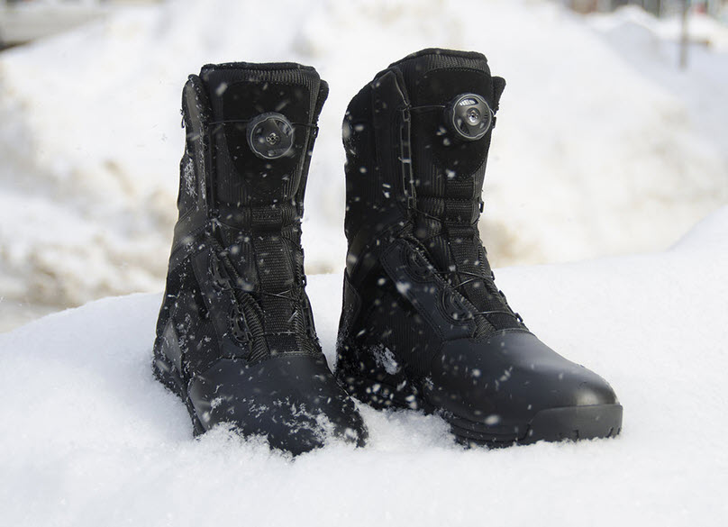 Are Tactical Boots Good for Snow